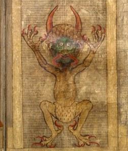 El dimoni. Codex Gigas, fol.270r